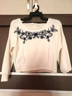 Embroidery Flower Jumper