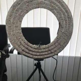 BARANG BARU!!! RINGLIGHT LED MINI ring light homemade 27cm lampu mua beauty vlogger makeup