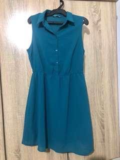 Terranova Teal Dress