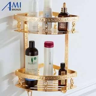 Luxury bathroom shelf
