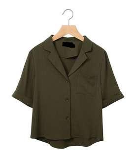 Brand New Green Blouse