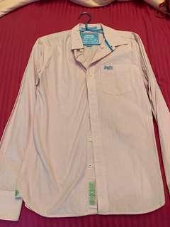 Superdry long sleeved shirt (pre-loved)