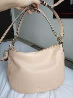 Coach Chelsea Pebble Leather Hobo Crossbody Shoulder Bag