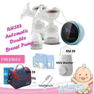 Sayang BB House RH388 Automotic LED Screen Rechargeable Double Breast Pump
