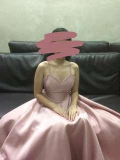 Dusty Pink Gown for RENT