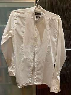 Crocodile white long sleeved shirt (pre-loved)