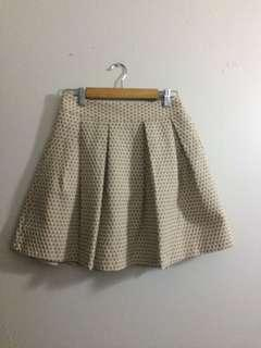 Skirt Nude/Beige color