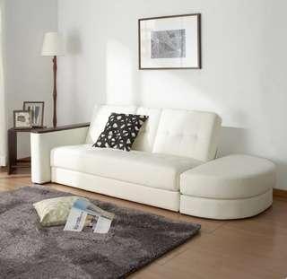 Home 81北歐收納沙發床  可組合 三人沙發 sofa 包送貨