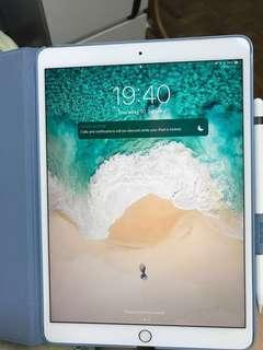 SET: IPAD PRO 10.5 WIFI+CELLULAR with Apple Pencil and Case