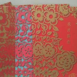 2 Packs Citbank Red Packets