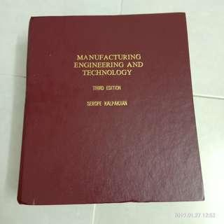 Manufacturing Engineering and Technlogy #CNY888