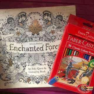 Adult Coloring Book Set