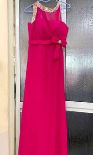EUC Pink Formal Gown