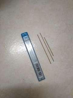 0.7 mechanic pencil lead(3 leads only because its golden color)