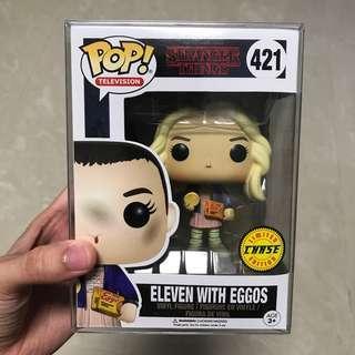 Funko Pop Stranger things 421 Eleven Chase