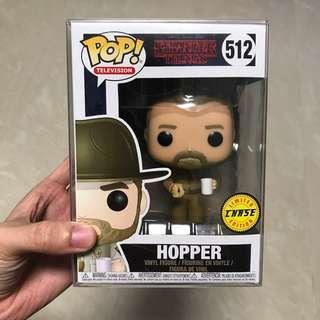 Funko Pop Stranger things 512 Hopper Chase