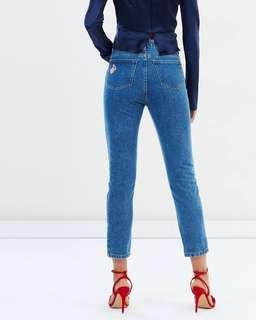 Bec and Bridge Peachy Blue Denim Jeans