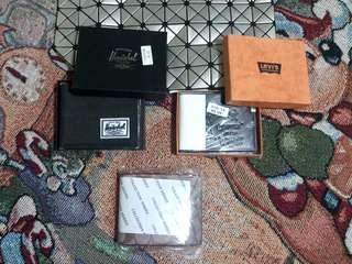 TAKE ALL Men's Wallet 3pcs. Levi's, Coach & Hershel Replica/Super Low Price👌