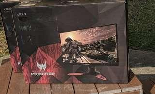 🚚 Acer Predator XB271HU 27-inch 2K IPS WQHD bmiprz (2560x1440) NVIDIA G-SYNC Monitor (Display Port & HDMI Port, 144Hz) ( 3 yrs Acer Singapore On Site Warranty )
