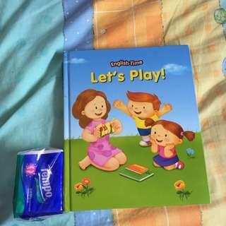 英文揭揭書 Let's Play 兒童故事書
