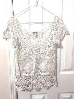 Forever 21 Small Crochet Top