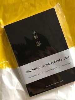 Hobonici Techo Planner 2019