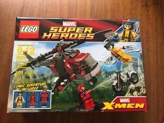 Lego Wolverine's Chopper Showdown 6866 Retired BNIB X-Men