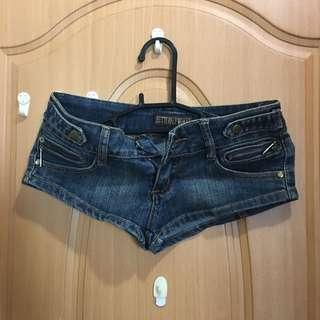 迷你短短褲