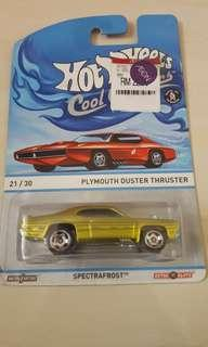 HW PLYMOUTH DUSTER THRUSTER SPECTRAFROST