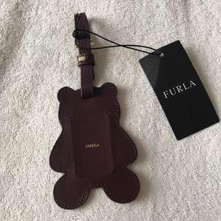 Brand new authentic Furla name tag / luggage tag