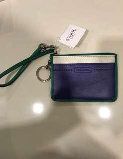 Brand new authentic Coach card holder
