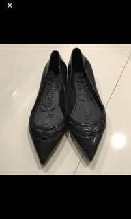 Jelly bunny flats black 37