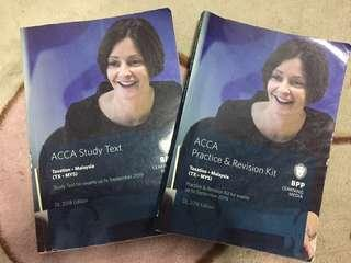 ACCA BPP Books