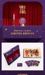 🚚 [ sharing ] twice yes or yes/the year of yes monograph pcs/photocards