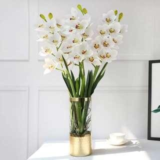 6th Avenue Orchid Artificial PU Flower Table Arrangement