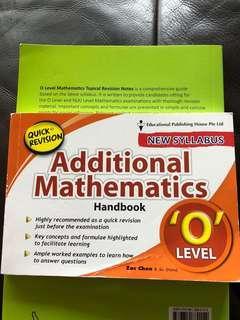 A Math handbook ( o level)