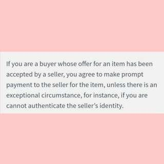 TO ALL MY FUTURE BUYERS