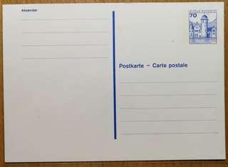 (最後一套)德國郵政明信片_0.70馬克