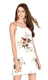 🚚 The Closet Lover - Erin Floral Printed Slip Dress