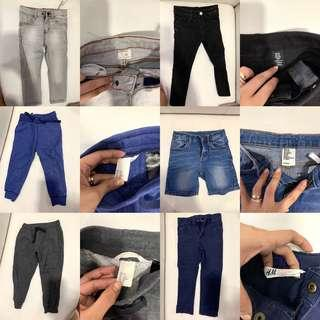 BRANDED PANTS AND SHORTS (1 FOR 300)