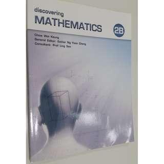 🚚 Discovering Mathematics 2B, Secondary 2 textbook