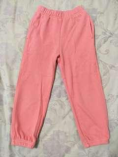 (D)✨優惠✨lativ 粉橘色運動褲-100cm