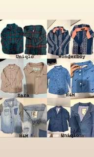 BRANDED CLOTHES FOR 3-4T BOYS