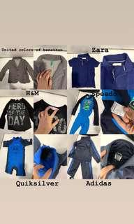 BRANDED CLOTHES FOR 3T-4T BOYS