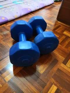 Dumbells 2.5kg x 2