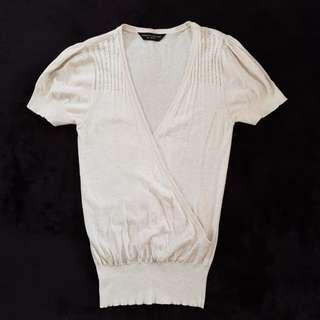 Dorothy Perkins Cream Knit Top