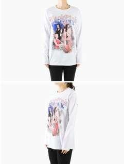 BLACKPINK IN YOUR AREA LONG SLEEVE T-SHIRTS