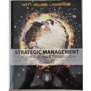 Strategic Management Text book