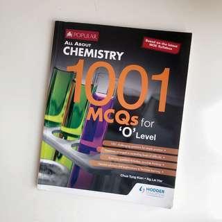 Chemistry 1001 MCQs for O Level
