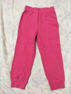 (D)✨優惠✨lativ 桃紅色運動褲-100cm
